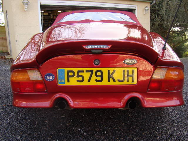 1997 Rare Marcos Mantara  For Sale (picture 2 of 6)