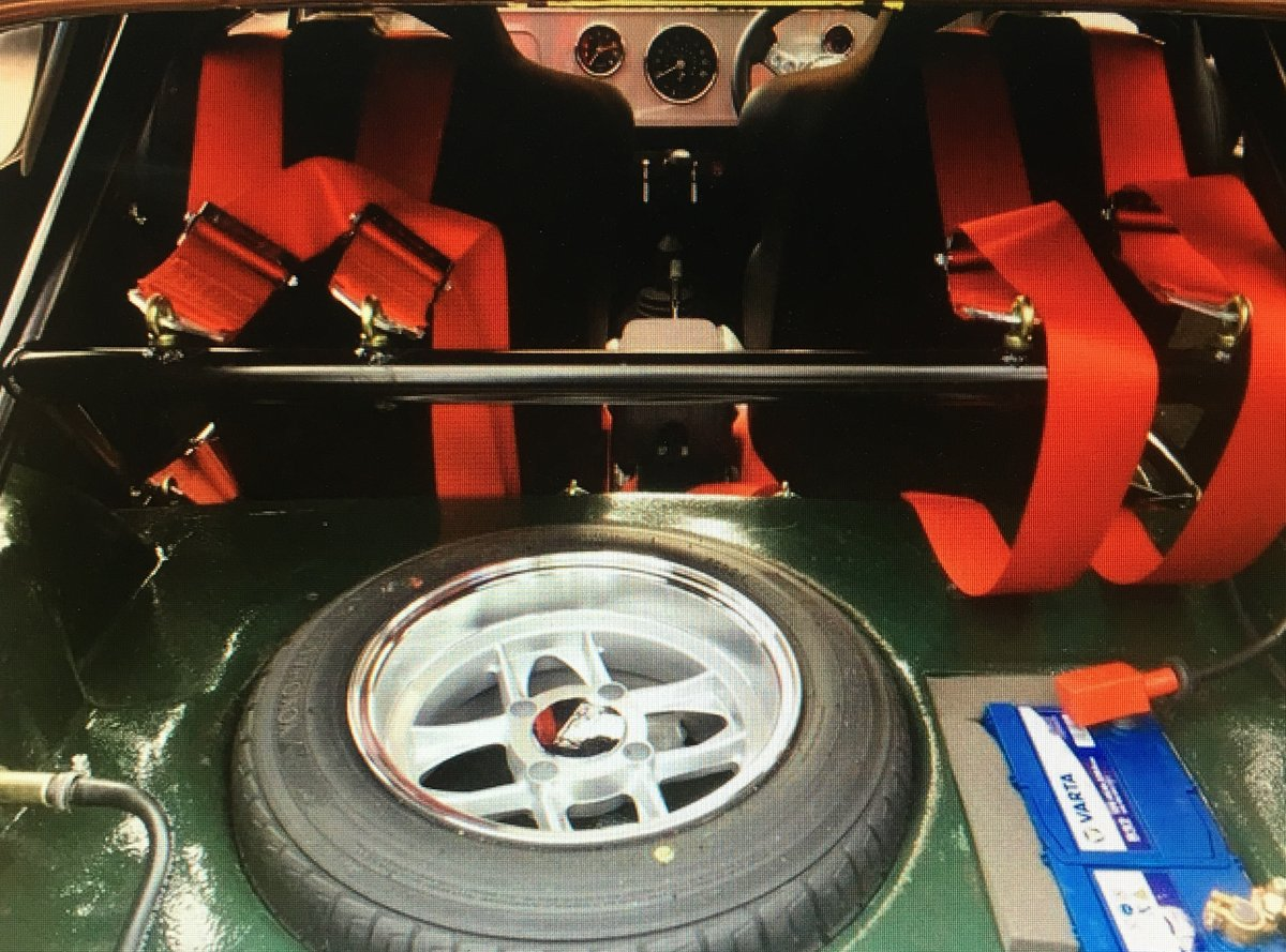 1965 MINI MARCOS MK1 1275 FULL RESTORED For Sale (picture 4 of 5)