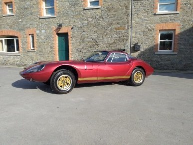 1969 Marcos 1600 GT Wooden Chassis