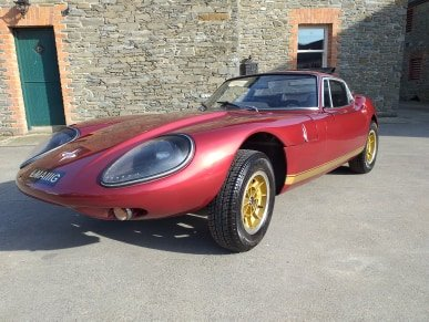 1969 Marcos 1600Gt Wooden Chassis