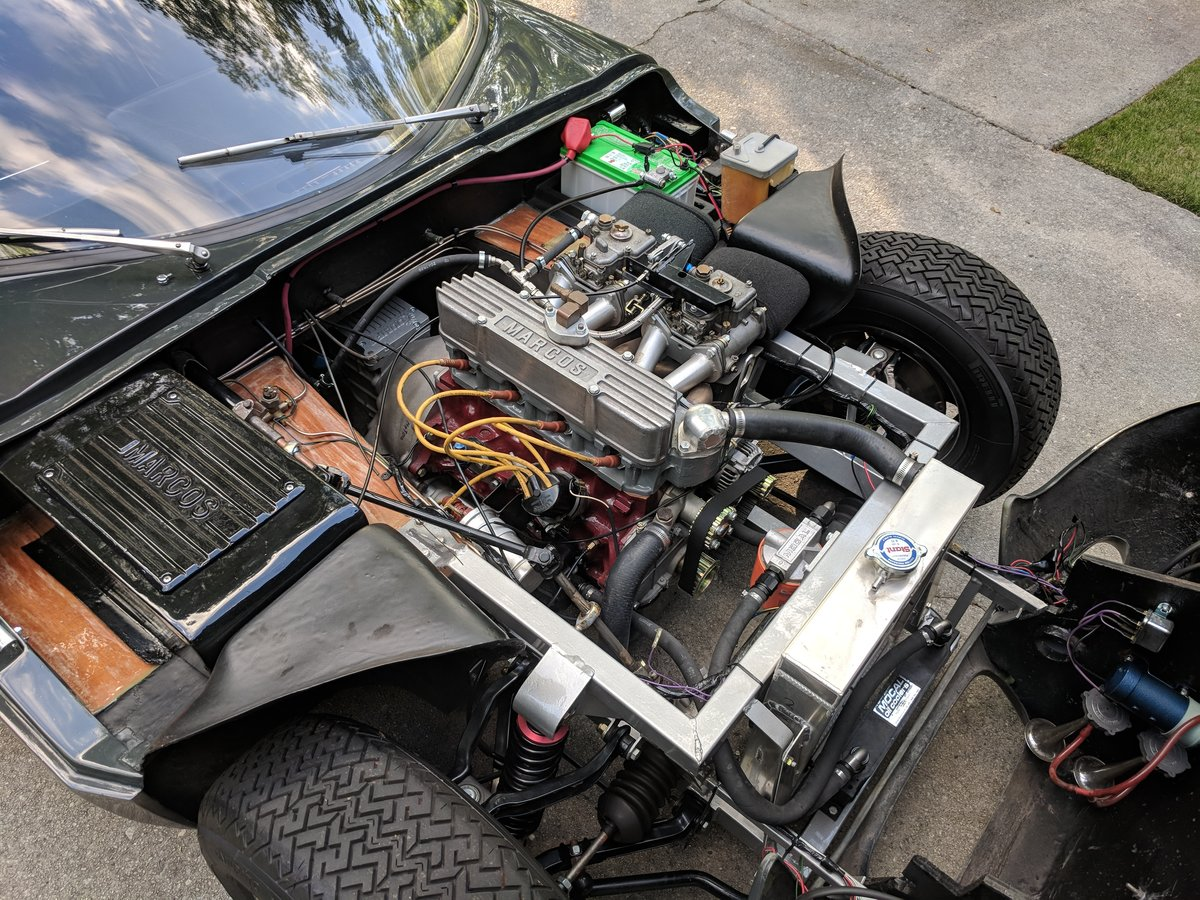 1966 Marcos 1500 GT  RHD  For Sale (picture 5 of 6)