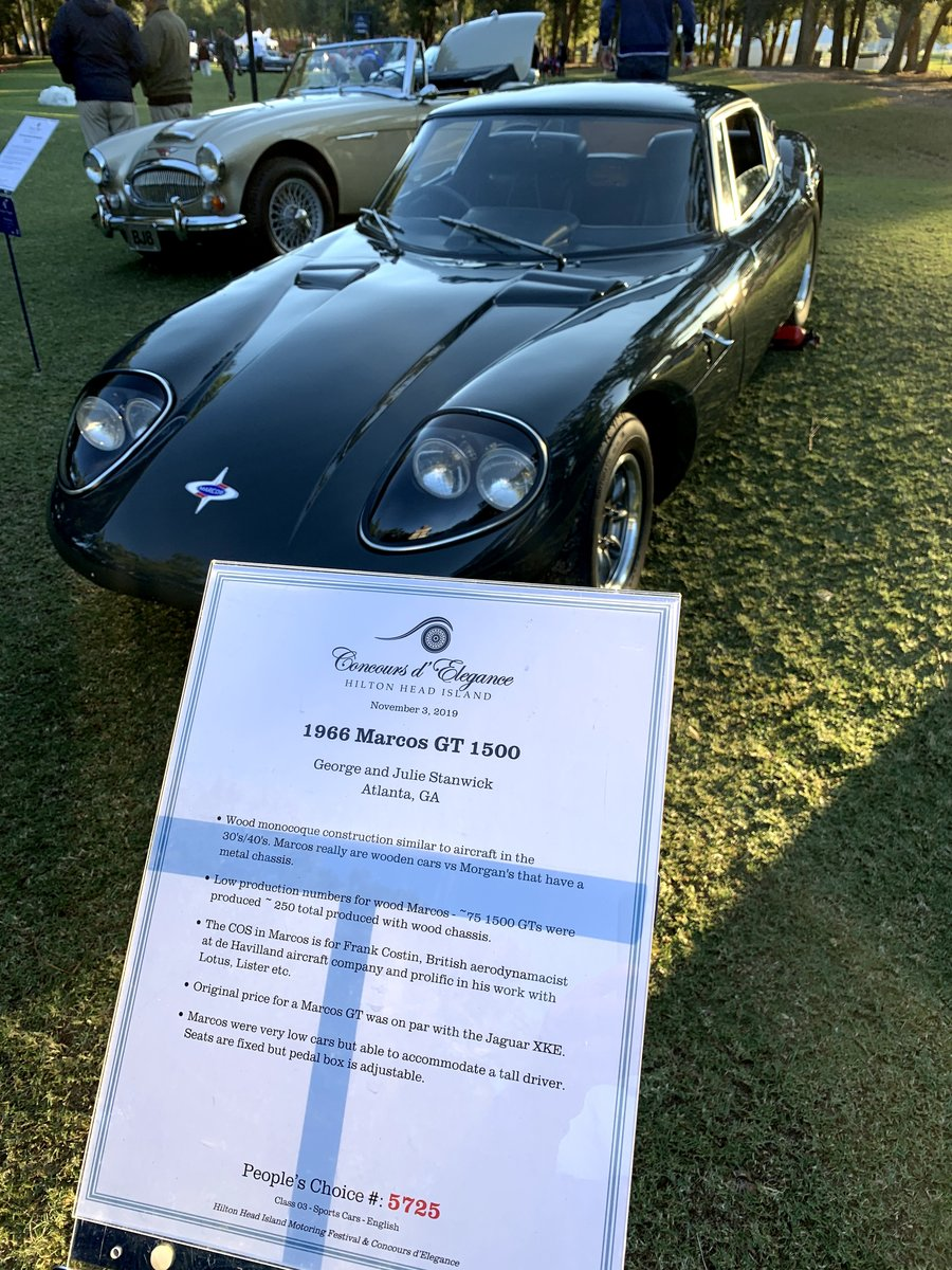 1966 Marcos 1500 GT  RHD  For Sale (picture 2 of 6)
