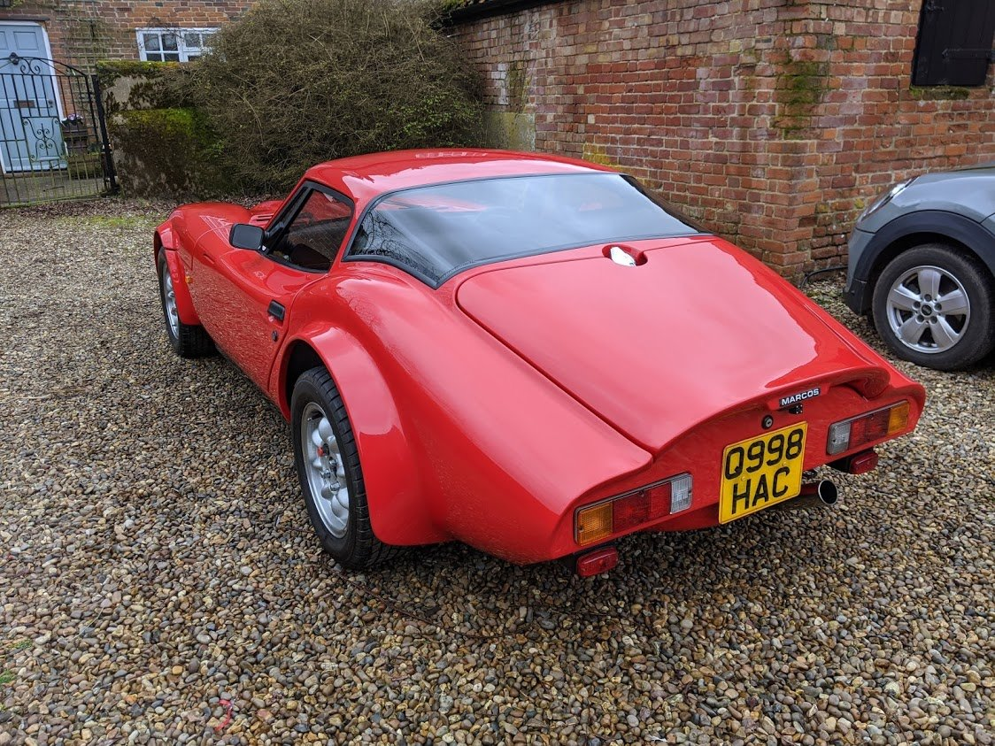 1996 Marcos Martina, 9000 Miles, Immaculate For Sale (picture 4 of 6)