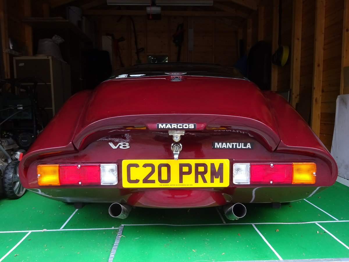 1985 Marcos Mantula 3.5L V8 SOLD (picture 4 of 6)