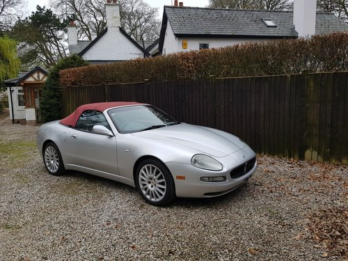 2002 Maserati Spyder 4.2 been in storage for some time For Sale (picture 1 of 6)