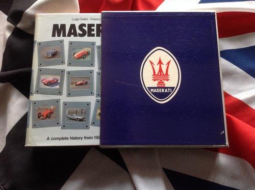 Maserati books For Sale (picture 2 of 6)