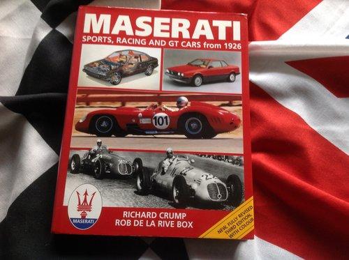 Maserati books For Sale (picture 5 of 6)