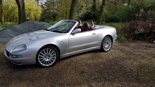 2002 Maserati Spyder 4.2 been in storage for some time For Sale (picture 2 of 6)