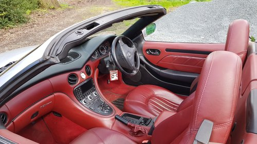 2002 Maserati Spyder 4.2 been in storage for some time For Sale (picture 4 of 6)