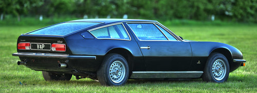 1972 Maserati Indy 2+2 4900 Coupé by Carrozzeria Vignale For Sale (picture 3 of 6)