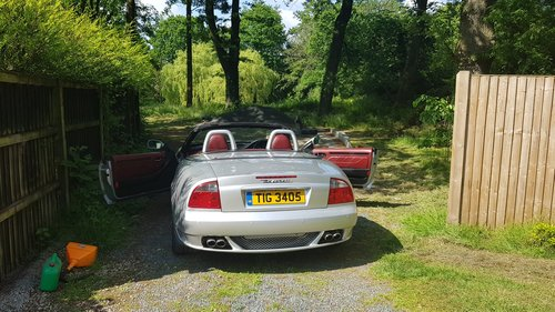 2002 Maserati Spyder 4.2 been in storage for some time For Sale (picture 6 of 6)