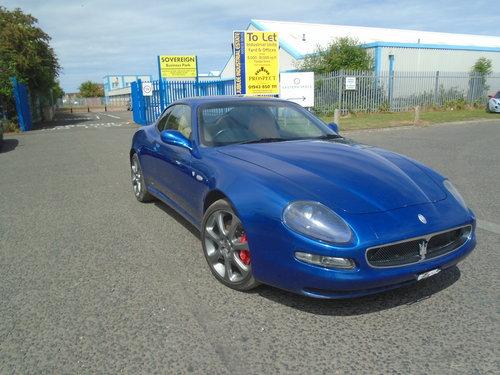 2003 MASERATI COUPE V8 CAMBIO CORSA 4200 6 SPEED SEMI AUTO For Sale (picture 1 of 6)