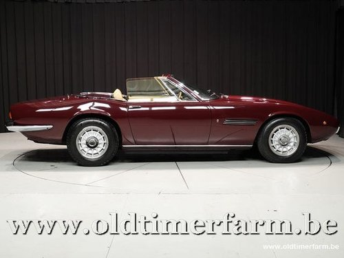 1973 Maserati Ghibli 5000 SS Spider '73 For Sale (picture 3 of 6)