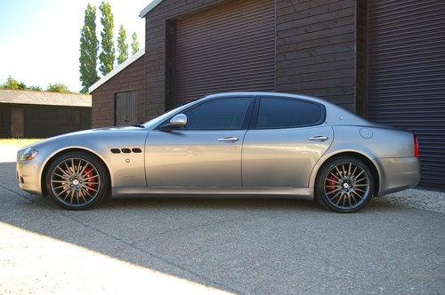 2010 Maserati Quattroporte 4.7 Sport GTS Auto (69,754 miles) SOLD (picture 1 of 6)