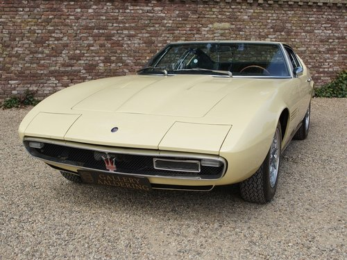 1967 Maserati Ghibli 4.7 1st  series one-off colour, matching No! For Sale (picture 5 of 6)