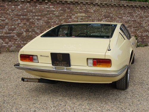 1967 Maserati Ghibli 4.7 1st  series one-off colour, matching No! For Sale (picture 6 of 6)