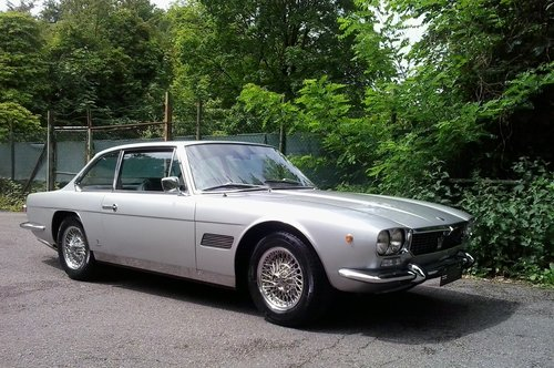 1970 Very beautiful and very original Maserati Mexico, German MOT For Sale (picture 1 of 6)