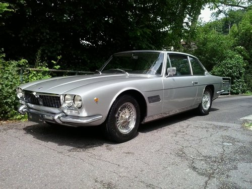 1970 Very beautiful and very original Maserati Mexico, German MOT For Sale (picture 2 of 6)