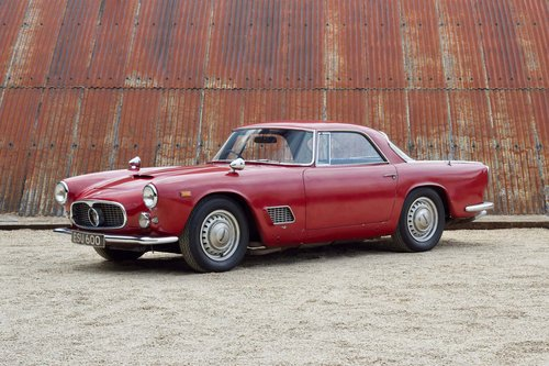 1960 MASERATI 3500 GT - RIGHT HAND DRIVE SOLD (picture 1 of 6)
