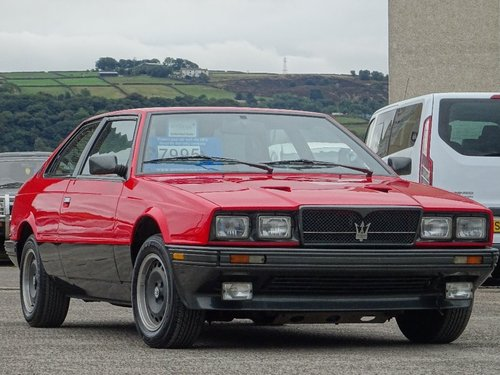 1989 Maserati Biturbo 2.5 2dr ES BI-TURBO MANUAL LHD For Sale (picture 1 of 6)