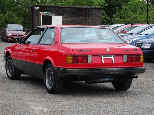 1989 Maserati Biturbo 2.5 2dr ES BI-TURBO MANUAL LHD For Sale (picture 2 of 6)