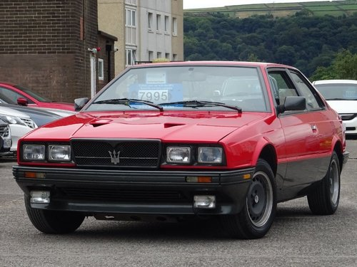 1989 Maserati Biturbo 2.5 2dr ES BI-TURBO MANUAL LHD For Sale (picture 3 of 6)