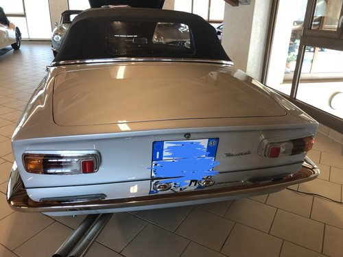 1965 Maserati Mistral 3.7 CONVERTIBLE For Sale (picture 2 of 6)