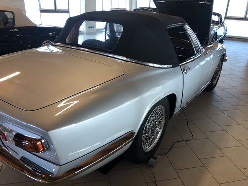 1965 Maserati Mistral 3.7 CONVERTIBLE For Sale (picture 4 of 6)