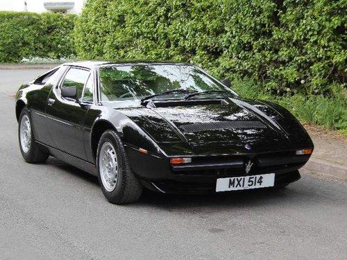 1982 Maserati Merak SS - Very original, recent engine rebuild SOLD (picture 1 of 6)