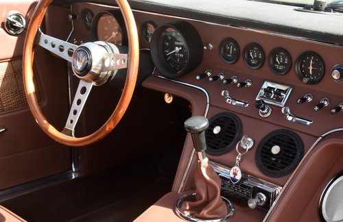 1968 Maserati Ghibli with crocodile interior - frame off restored For Sale (picture 6 of 6)