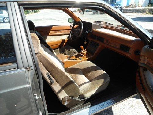 1985 Maserati Biturbo For Sale (picture 5 of 6)