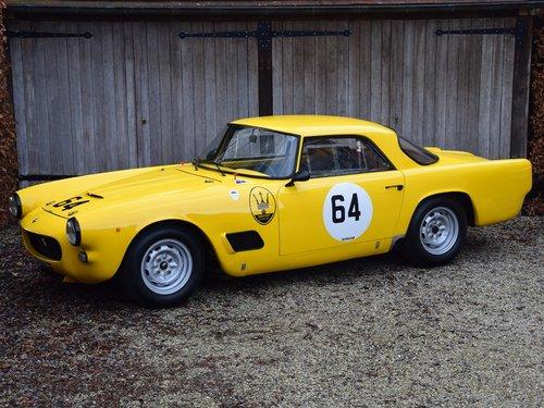 1961 Maserati 3500 GT FIA Historic race car For Sale (picture 1 of 6)