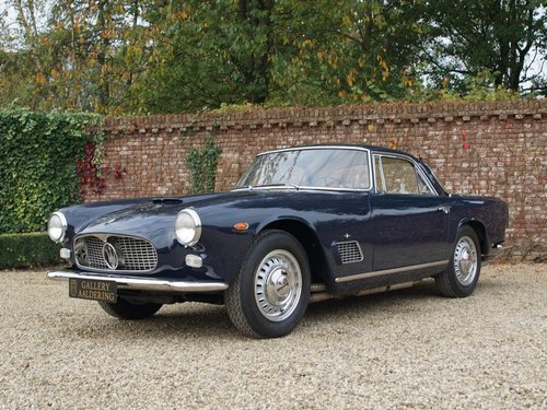 1962 Maserati 3500 GTi fully restored, matching numbers, Maserati For Sale (picture 1 of 6)