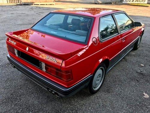 1989 MASERATI BITURBO 2.24V V6  SOLD (picture 3 of 6)