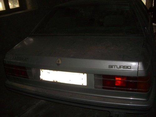 MASERATI BITURBO 1983 For Sale (picture 4 of 4)