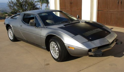 1974 Maserati Merak 3 ltr silver '74 For Sale (picture 1 of 6)