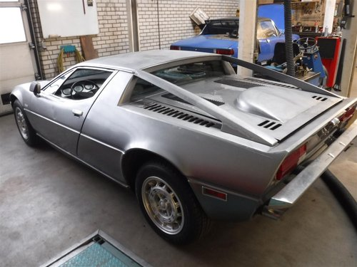 1974 Maserati Merak 3 ltr silver '74 For Sale (picture 4 of 6)