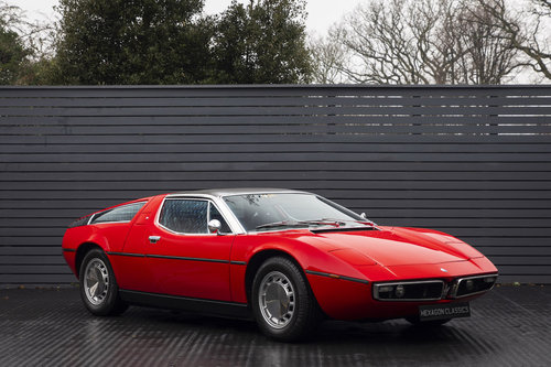 1972 Maserati Bora Autovettura 4.7 LHD  For Sale (picture 1 of 6)