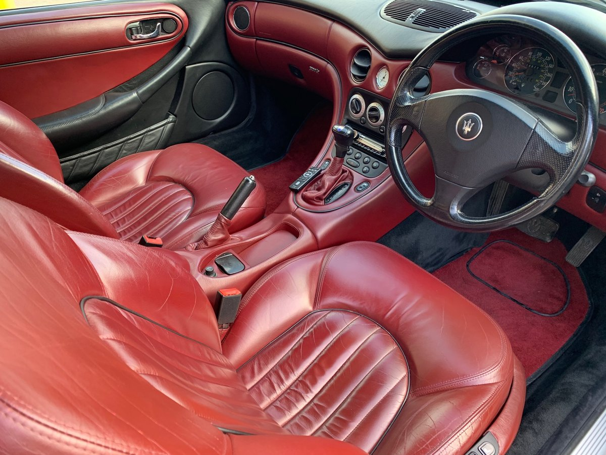 1999 Maserati 3200GTA Automatic UK RHD Stunning Condition For Sale (picture 3 of 6)
