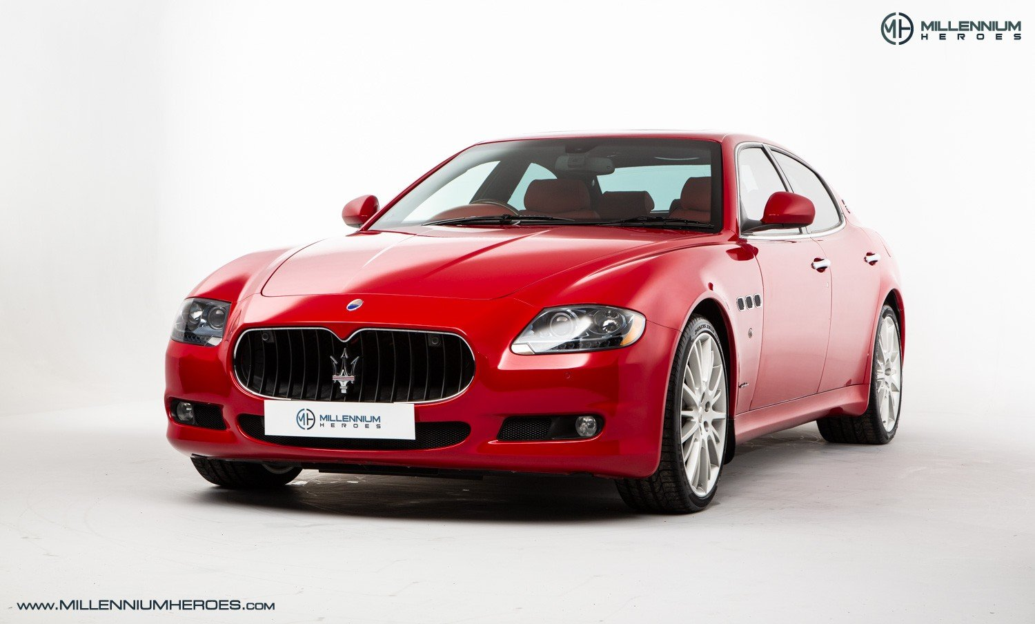 2010 MASERATI QUATTROPORTE 4.7 GTS // SPECIAL PAINT ROSSO MONDIAL For Sale (picture 1 of 6)