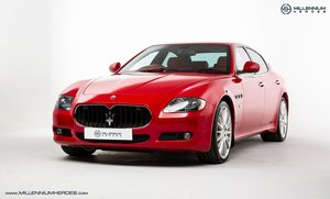 2010 MASERATI QUATTROPORTE 4.7 GTS // SPECIAL PAINT ROSSO MONDIAL SOLD