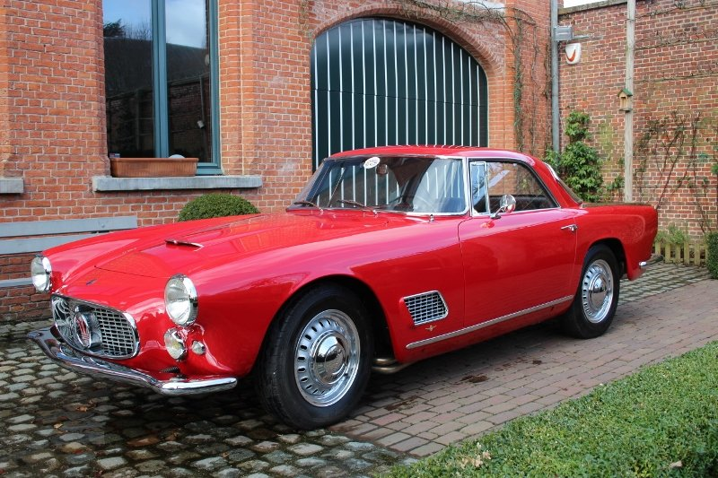 Very beautiful Maserati 3500 GT coupé from 1959 For Sale (picture 1 of 6)
