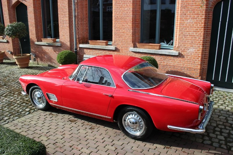 Very beautiful Maserati 3500 GT coupé from 1959 For Sale (picture 2 of 6)