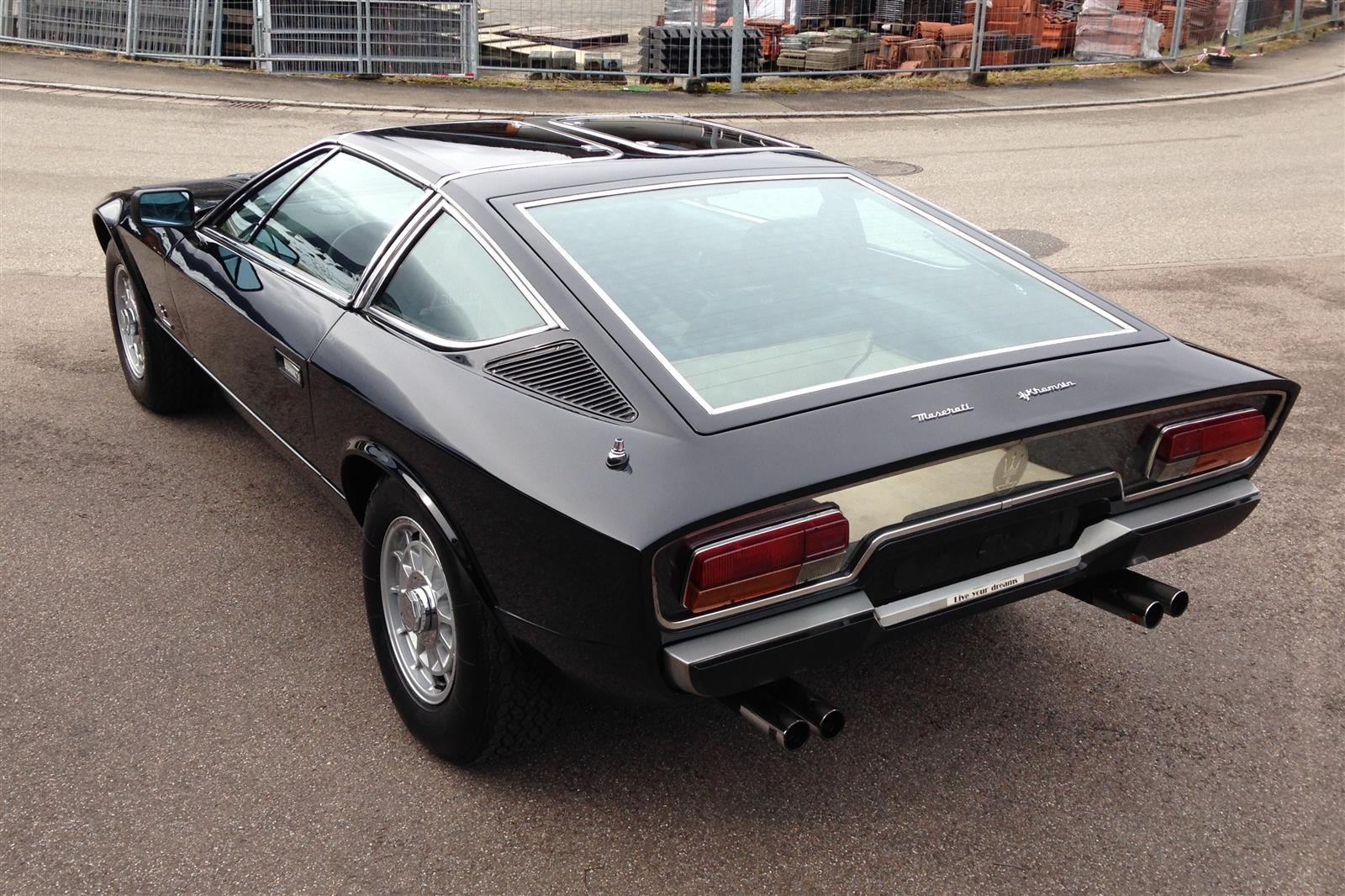 1977 Maserati Khamsin T-Top - Open One Off For Sale (picture 4 of 6)