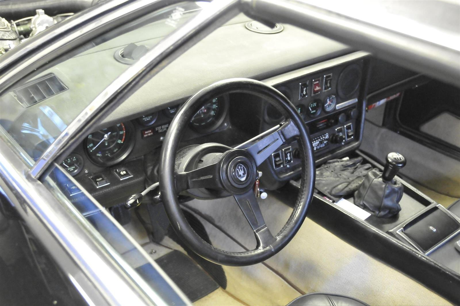 1977 Maserati Khamsin T-Top - Open One Off For Sale (picture 5 of 6)