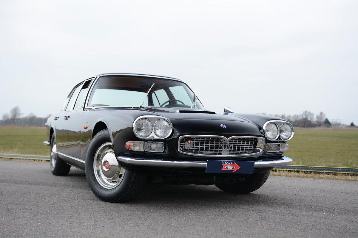 Maserati Quattroporte 4700 1965 Nero Perlato Savidin For ...