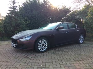 2014 Maserati Ghibli DV6 Auto For Sale