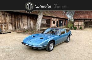 1972 A fantastic Maserati Indy with an amazing history For Sale