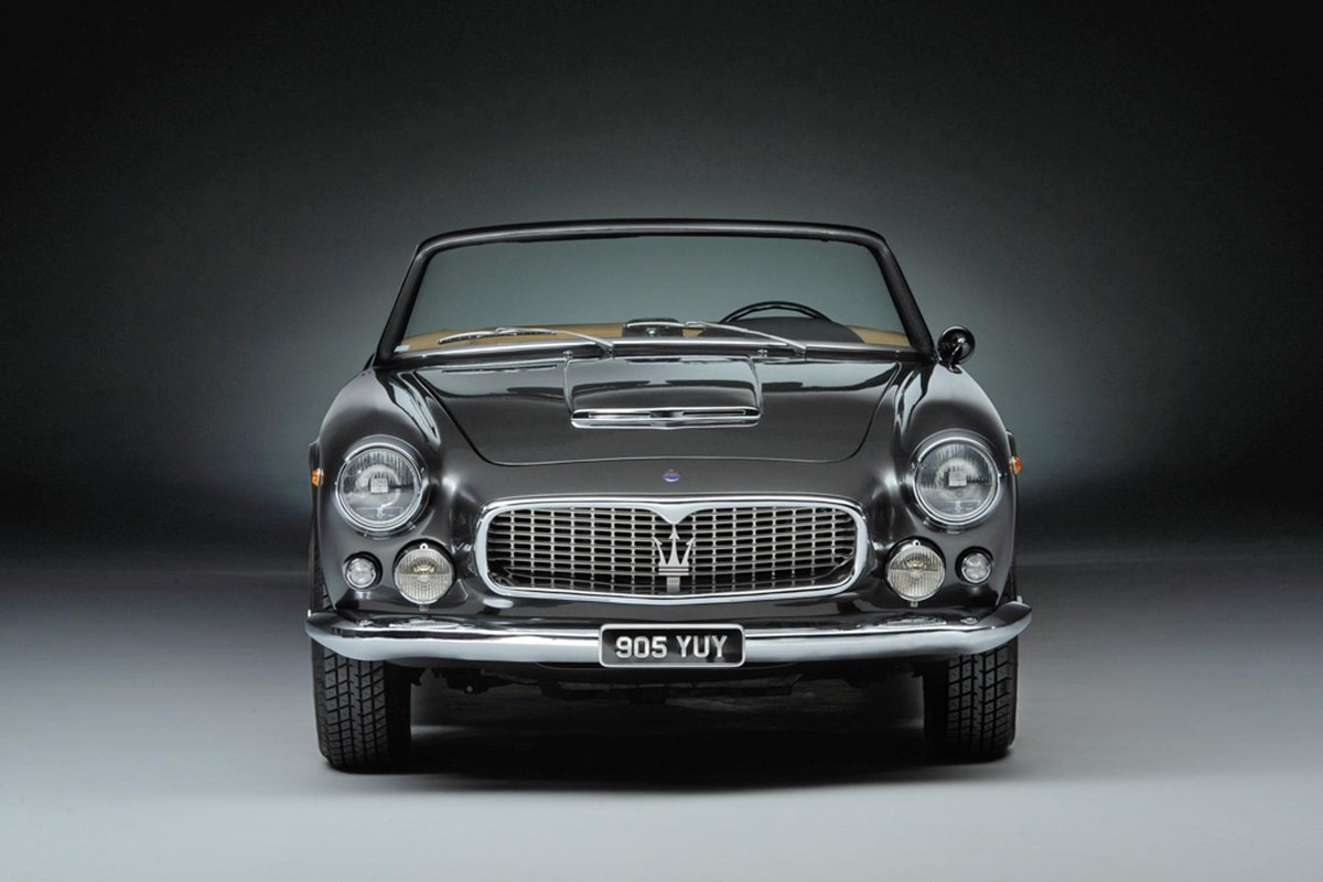1964 MASERATI 3500 GTI VIGNALE SPYDER LHD SOLD | Car and ...