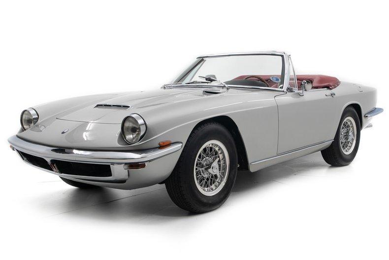 1968 Maserati Mistral 4000 Spider = 38k miles $748.5k       For Sale (picture 1 of 6)